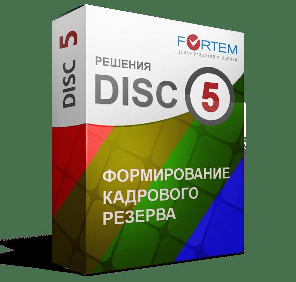 тест DISC формирование кадрового резерва